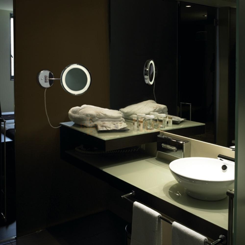 L mpara de ba o con espejo y apagador reflex 10633 masluz - Lamparas espejo bano ...
