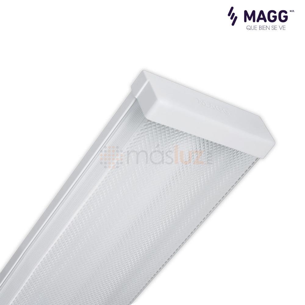 Gabinete lineal track 2x32w t8 blanco magg masluz - Lampara fluorescente cocina ...