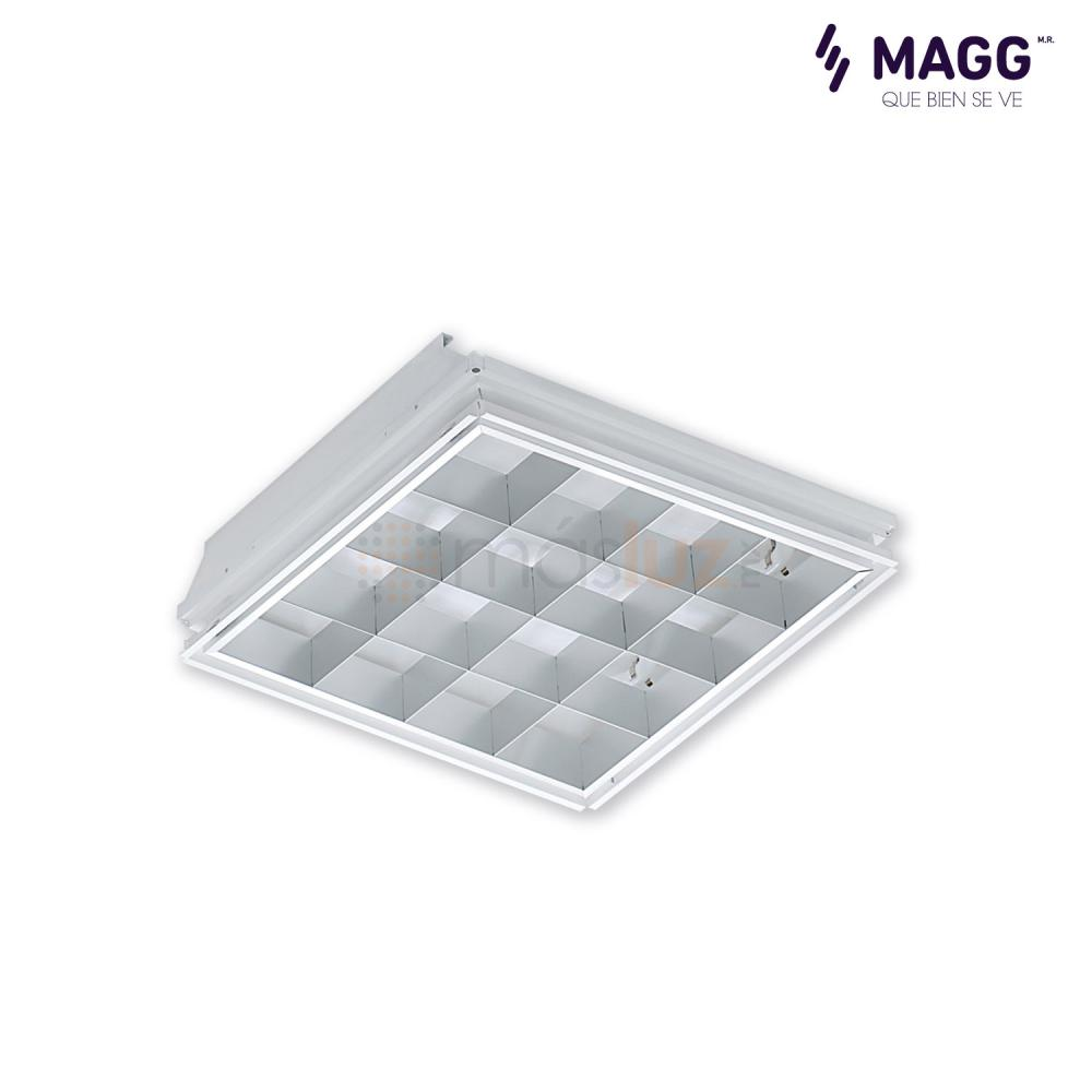 Gabinete Cubic 16 Celdas 2x32w Magg Masluz