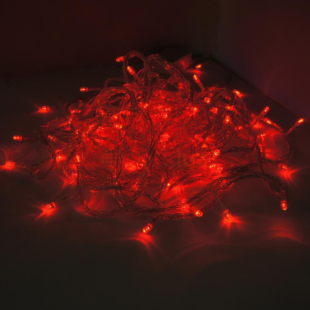 Serie de navidad con 100 luces led masluz - Luces para navidad ...
