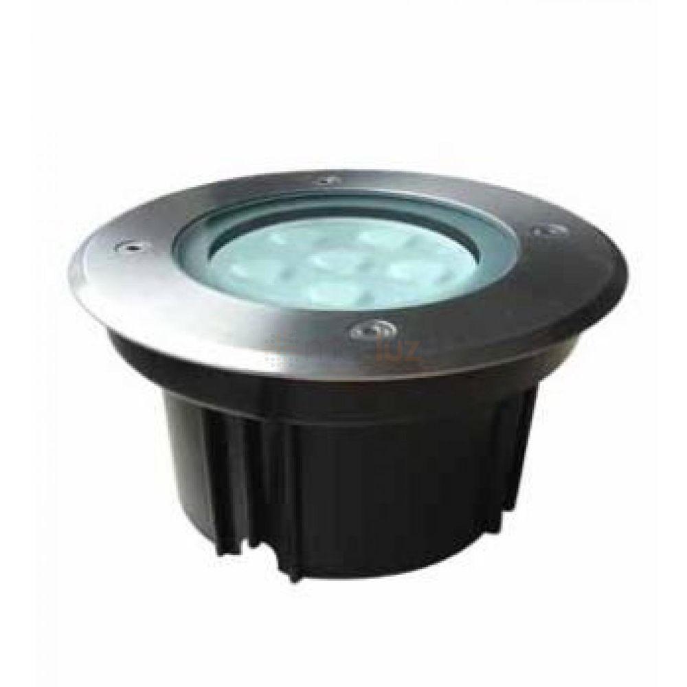 Empotrado de piso redondo led cree 6x1w 5120 led masluz for Precios iluminacion exterior