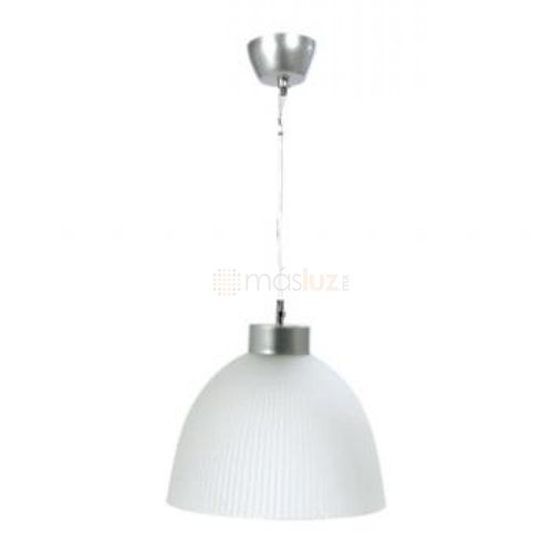 Luminario suspendido de cristal tipo madera v2040 masluz - Campana de cristal ikea ...