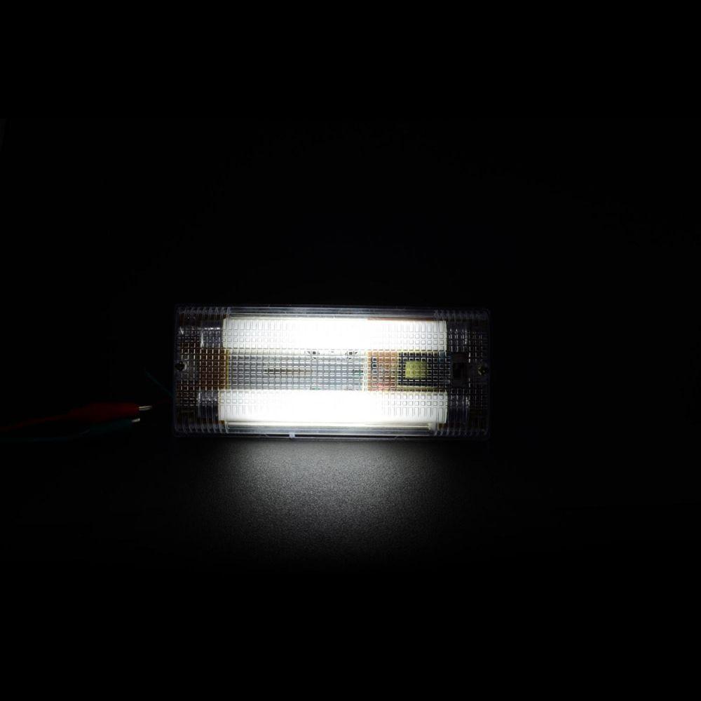 L mpara fluorescente automotriz para interior media ca a - Lampara de pared interior ...