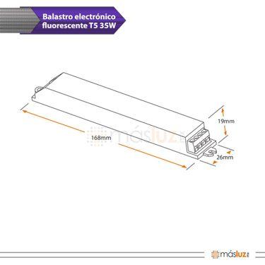b0407-100-2-balastro-electronico-encendido-rapido-para-t5-1x35w-127v-magg-diagrama