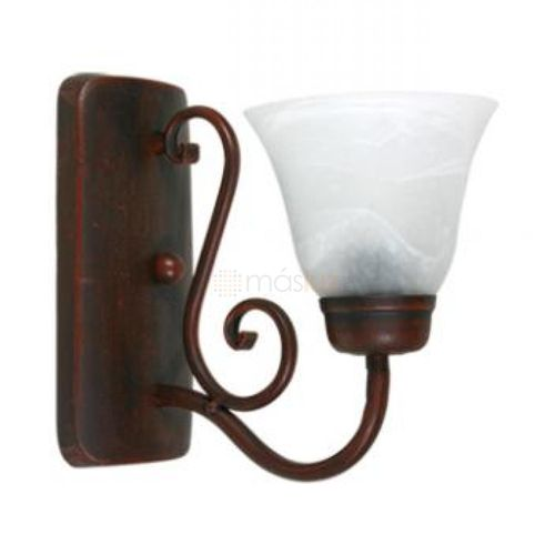 arbotante-forja-1-luz-pantalla-marmol-bco