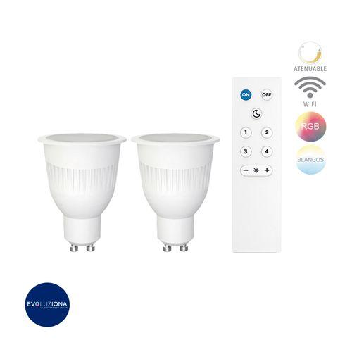 lamp-led-7w100-127vrgbgu10360lm-kit-386191-dicroico-gu10-led-blanco-2700-6500k-rgb-tecnolite-7dgu10ledrgbwvb-k47